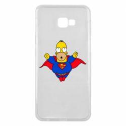 Чехол для Samsung J4 Plus 2018 Simpson superman