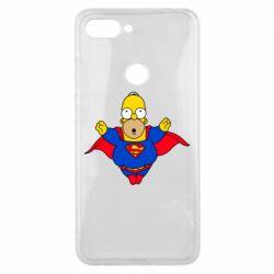 Чехол для Xiaomi Mi8 Lite Simpson superman