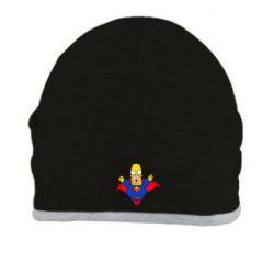 Шапка Simpson superman