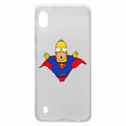Чехол для Samsung A10 Simpson superman