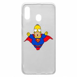 Чехол для Samsung A30 Simpson superman