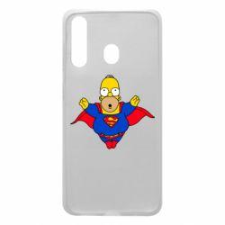 Чехол для Samsung A60 Simpson superman