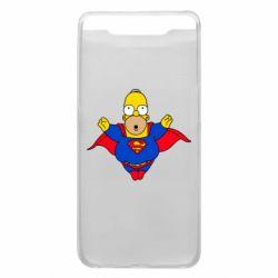 Чехол для Samsung A80 Simpson superman