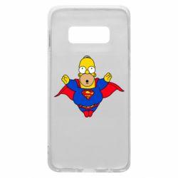 Чехол для Samsung S10e Simpson superman