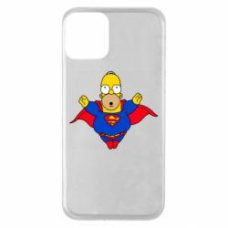 Чехол для iPhone 11 Simpson superman