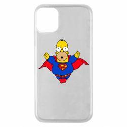 Чехол для iPhone 11 Pro Simpson superman