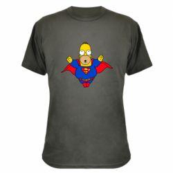 Камуфляжная футболка Simpson superman