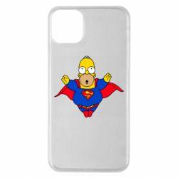 Чехол для iPhone 11 Pro Max Simpson superman