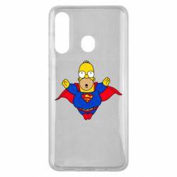 Чехол для Samsung M40 Simpson superman