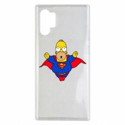 Чехол для Samsung Note 10 Plus Simpson superman