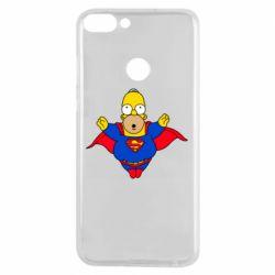 Чехол для Samsung J7 2016 Simpson superman