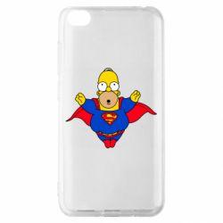 Чехол для Xiaomi Redmi Go Simpson superman