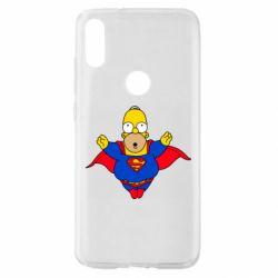 Чехол для Xiaomi Mi Play Simpson superman