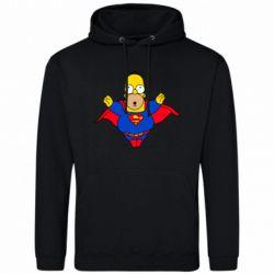 Мужская толстовка Simpson superman