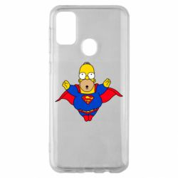 Чехол для Samsung M30s Simpson superman