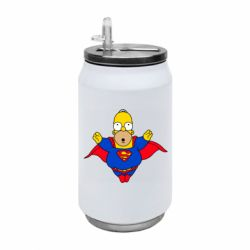 Термобанка 350ml Simpson superman