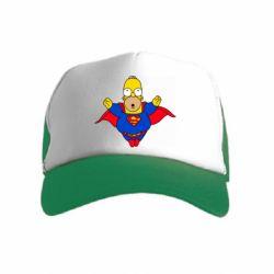 Детская кепка-тракер Simpson superman
