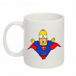 Кружка 320ml Simpson superman
