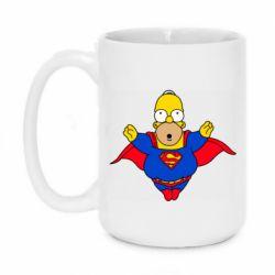 Кружка 420ml Simpson superman
