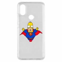 Чехол для Xiaomi Mi A2 Simpson superman