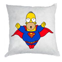 Подушка Simpson superman