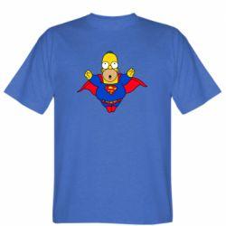 Мужская футболка Simpson superman