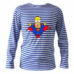 Тельняшка с длинным рукавом Simpson superman