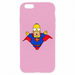 Чехол для iPhone 6 Plus/6S Plus Simpson superman