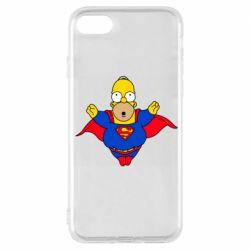 Чехол для iPhone 7 Simpson superman