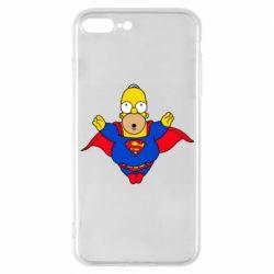 Чехол для iPhone 7 Plus Simpson superman