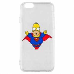 Чехол для iPhone 6/6S Simpson superman