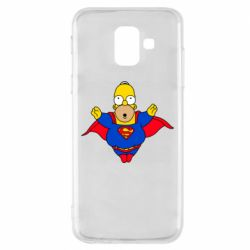 Чехол для Samsung A6 2018 Simpson superman