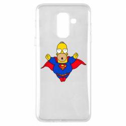 Чехол для Samsung A6+ 2018 Simpson superman
