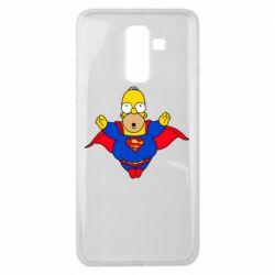 Чехол для Samsung J8 2018 Simpson superman