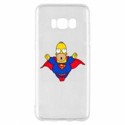 Чехол для Samsung S8 Simpson superman