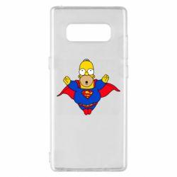 Чехол для Samsung Note 8 Simpson superman