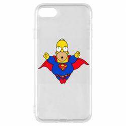Чехол для iPhone 8 Simpson superman