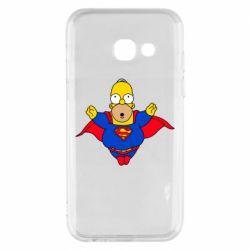 Чехол для Samsung A3 2017 Simpson superman