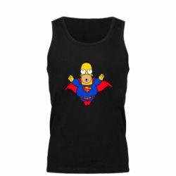 Мужская майка Simpson superman