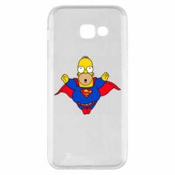Чехол для Samsung A5 2017 Simpson superman