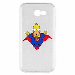 Чехол для Samsung A7 2017 Simpson superman