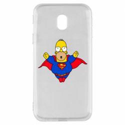 Чехол для Samsung J3 2017 Simpson superman