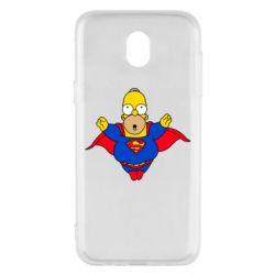 Чехол для Samsung J5 2017 Simpson superman