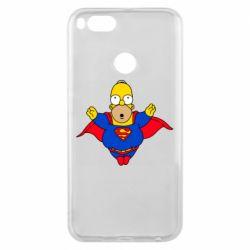 Чехол для Xiaomi Mi A1 Simpson superman