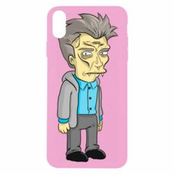 Чохол для iPhone X/Xs Simpson with fangs