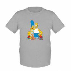 Детская футболка Simpsons Family - FatLine