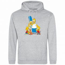 Мужская толстовка Simpsons Family - FatLine