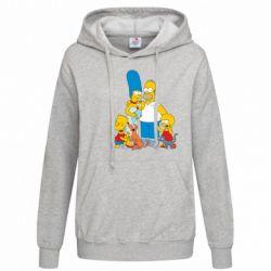 Женская толстовка Simpsons Family - FatLine