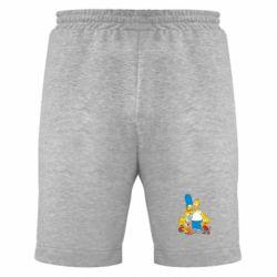 Мужские шорты Simpsons Family - FatLine
