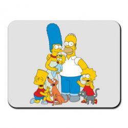 Коврик для мыши Simpsons Family - FatLine